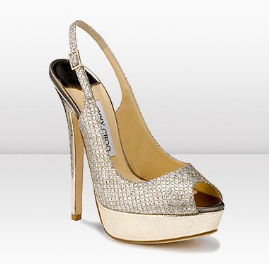 Jimmy Choo sparkling bridal shoes Scarpe da sposa luccicanti Jimmy Choo We love it!Le adoriamo!