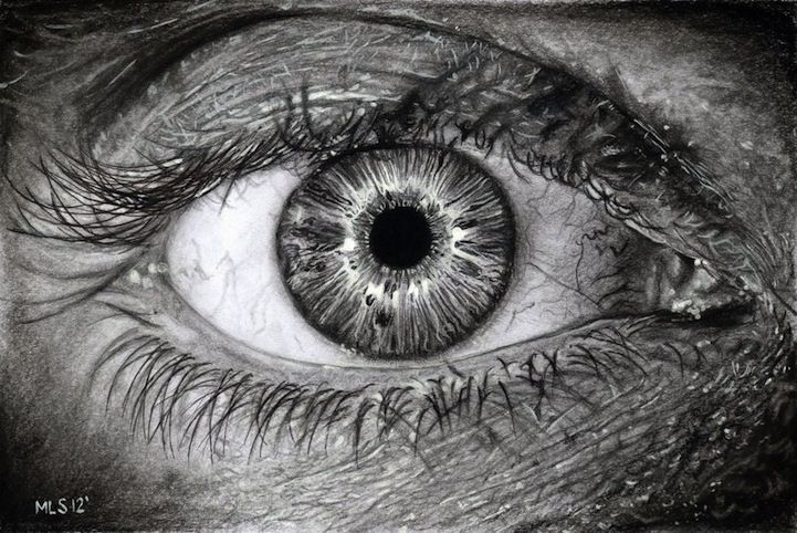 """Hyperrealistic Pencil Drawings Look Deeply Into Soulful Eyes"" by mls-art.deviantart.com - My Modern Metropolis"