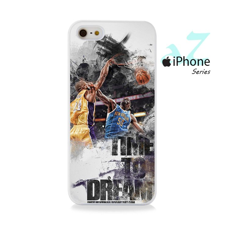Time To Dream Basketball Phone Case | Apple iPhone 4/4s 5/5s 5c 6 6 Plus Samsung Galaxy S3 S4 S5 S6 S6 Edge Samsung Galaxy Note 3 4 5 Hard Case