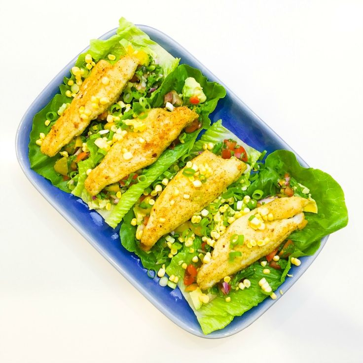 This is a healthier version of the delicious - but deep fried - fish tacos you can get in Mexican restaurants. Instead of deep frying the fish, you can pan fry it in a little olive oil, or better still - bake it the oven. The secret to making this dish just as delicious as its restaurant cou