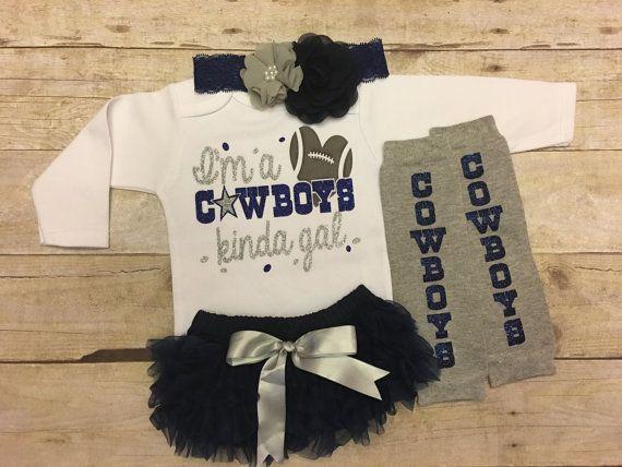 Dallas Cowboys Dallas Cowboys baby girl by KeepsakeKonnections
