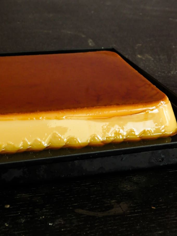 Caramel Custard Made In A Pyrex Dish In 2020 Baked Caramel Condensed Milk Recipes Desserts Milk Recipes Dessert