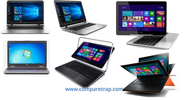 HP laptops price, Specifications, features in India
