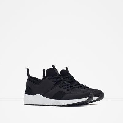 COMBINATION SNEAKERS from Zara | vegan shoes | vegan sneakers