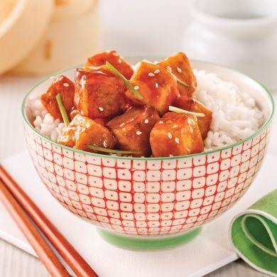 Tofu style Général Tao - Recettes - Cuisine et nutrition - Pratico Pratique