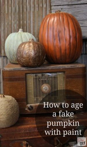 Best 25 Faux Pumpkins Ideas On Pinterest Pumpkin Table