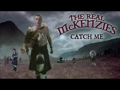 """The Real McKenzies """"Catch Me"""" off their new album Rats In The Burlap"""