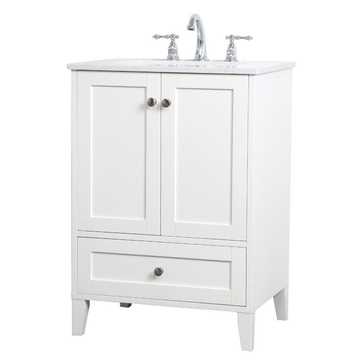 Highland Dunes Goodell 24 Single Bathroom Vanity Set Reviews