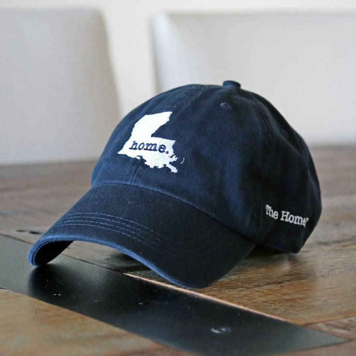 The Louisiana Home Hat is a great way to show off your state pride, while also helping raise money for multiple sclerosis research. I NEED this, and it's for s good cause.