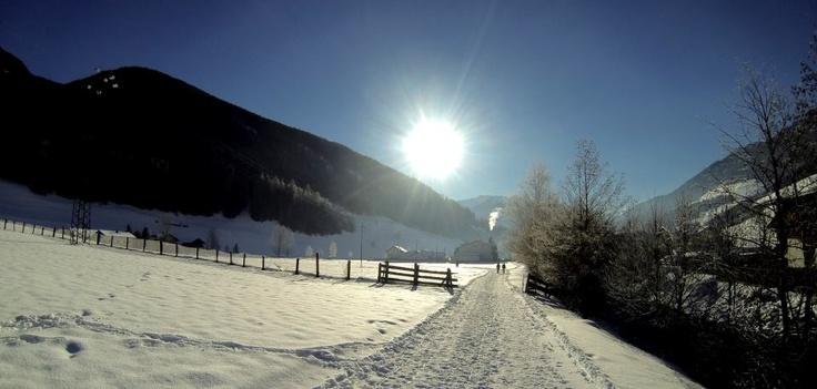 Winterwandern im #Ahrntal ♥♥♥ Escursioni invernali nella #Valle Aurina
