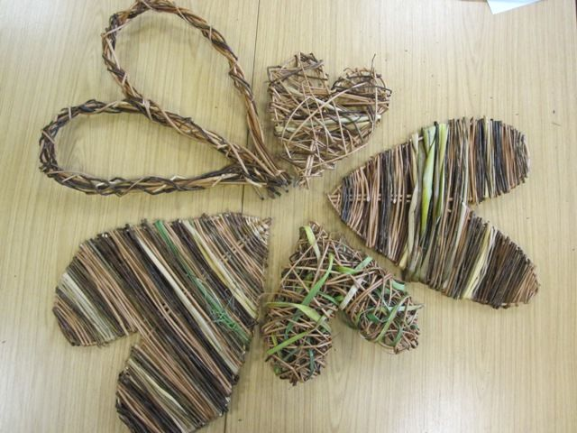 Basket Weaving With Willow Branches : Best images about fun baskets to weave on