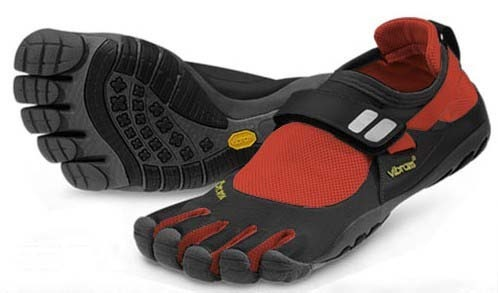 Vibram Five Fingers TrekSport Black Red Mens [Vibram-011] - $59.89 : Vibram Five Fingers - Buy Top Vibram FiveFingers Shoes Online Sale