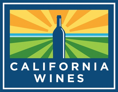 @California Wines drive exports to record high. #wine #California #logo #design #brandidentity