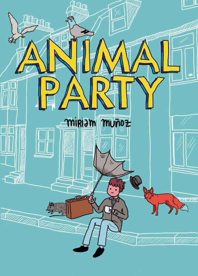 ANIMAL PARTY de Miriam Muñoz | Edicions de Ponent