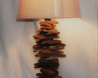 Amazing Treibholz Lampe mit Seil Wohnkultur Lampe von Glighthouse auf Etsy