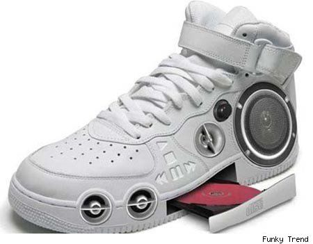 Chaussures + design insolite