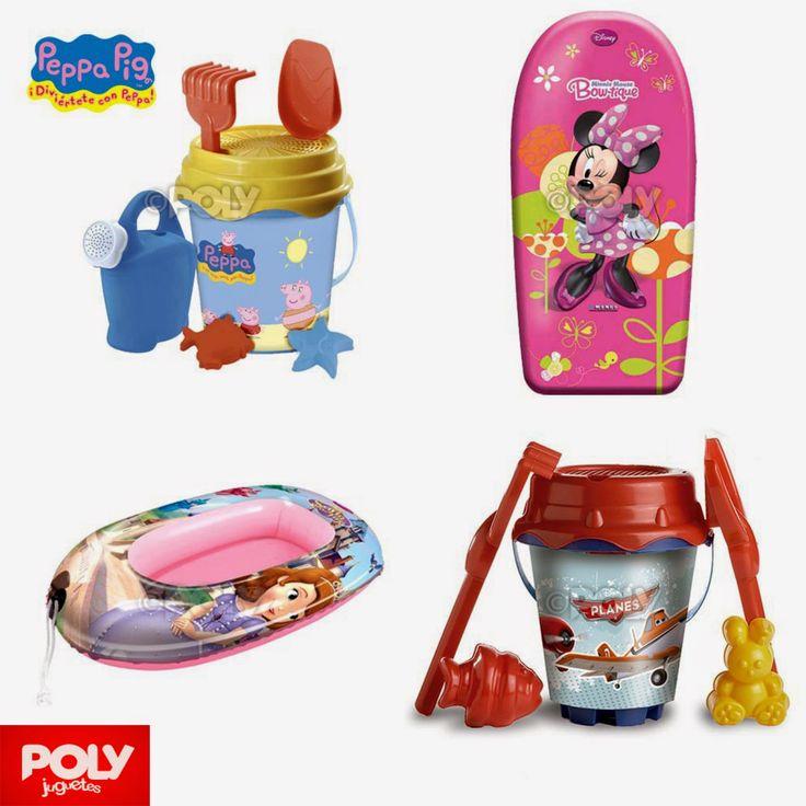 Juguetes Playa Poly Minnie