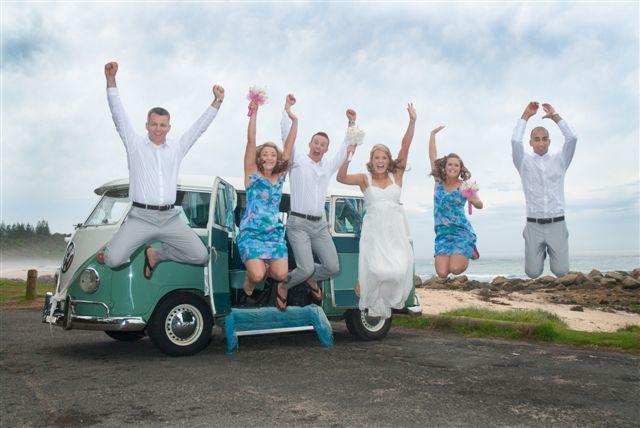 Image Gallery | Mirror Image Weddings | Kombi Wedding Car Hire, Wedding Chauffeur - Coffs Harbour, Port Macquarie, Byron Bay