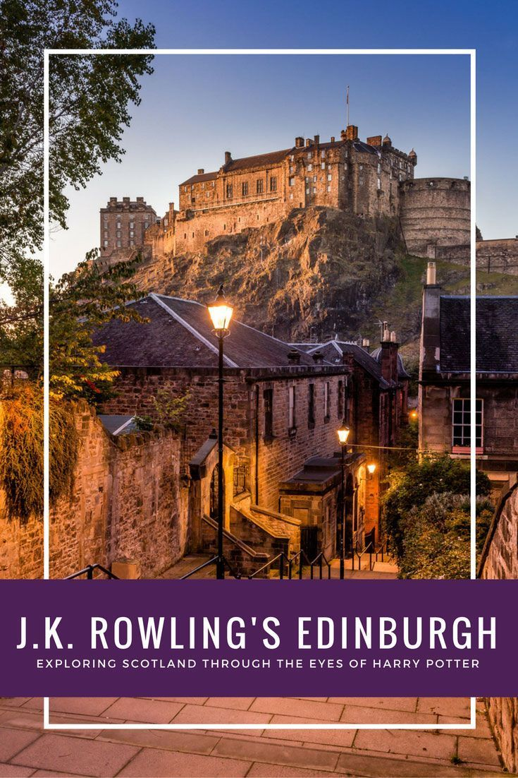 Trailing Harry Potter in Scotland to discover JK Rowling's Edinburgh