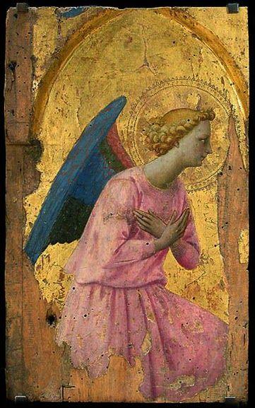Fra Angelico, Angel en Adoracion: