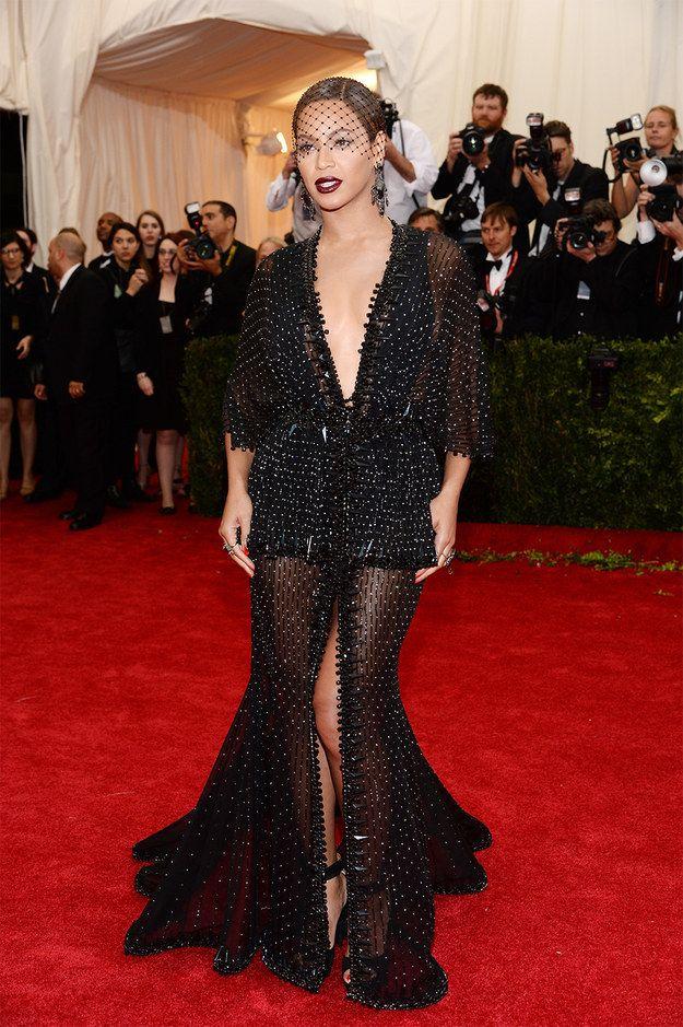 Beyoncé killing it at the Met Gala like always
