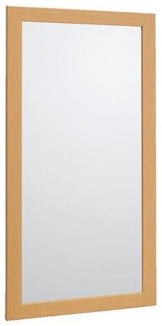 Miroir, mon beau miroir ? Simple mais tendance, ce miroir saura trouver sa place dans votre salle de bains.