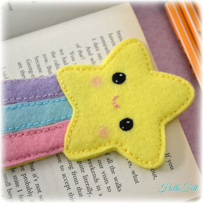 easy felt craft ideas 25 best felt bookmark ideas on 4354