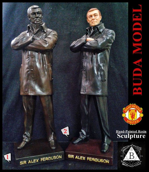 sir alex ferguson. Resin.Figurine Statue. by BUDAMODEL on Etsy