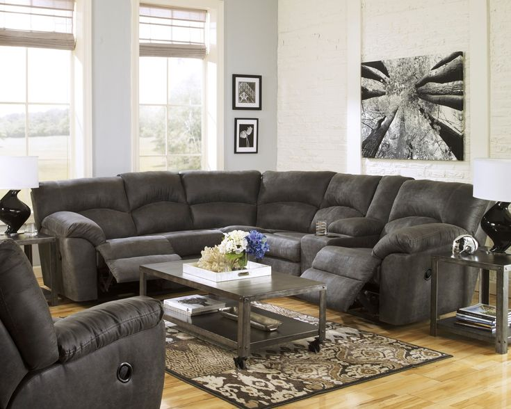 Tambo Pewter Sectional