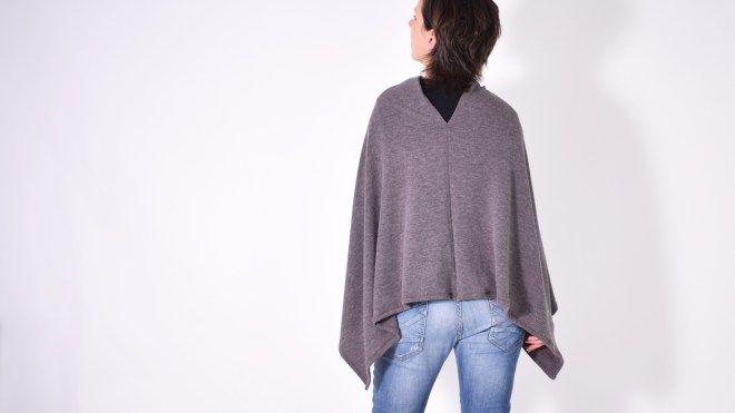 BLEIB ENTSPANNT ♥ ein schneller Poncho | leni pepunkt sewing cape Schnittmuster kostenlos free pattern