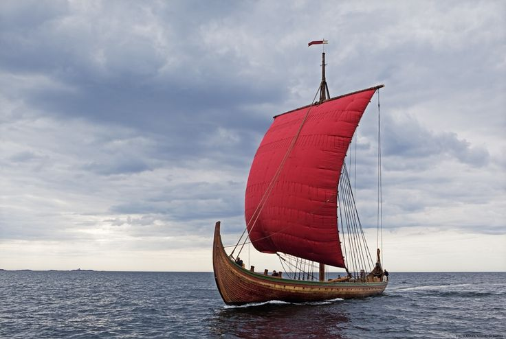 The world's largest Viking ship, Draken Harald Hårfagre sails from Norway to America, beginning April 24, 2016. The vessel sets sail from its homeport of Haugesund, Norway and will cross the North Atlantic ocean, on the same route