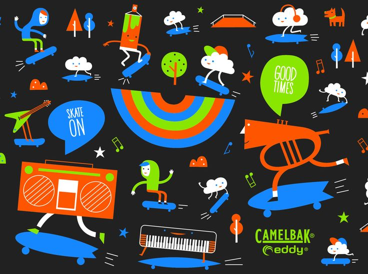 CAMELBAK EDDY DESIGN - Colorblok inc.