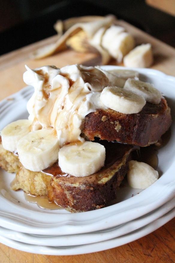Banana Bread French Toast | food | Pinterest