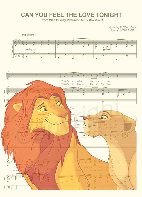 Here is a music sheet art print of Simba and Nala from Disneys The Lion King. This is perfect for any Lion King/Disney fanatic!  Be sure to let us know which print you prefer: 1) Simba and Nala Silhouette or 2) Simba and Nala Without Silhouette. We print this on quality ivory card stock paper, which measures approximately 8.5x11, and ship it in a heavy-duty envelope to ensure it arrives intact. FRAME NOT INCLUDED.  11x17 Poster: $20.00 18x24 Poster: $30.00 24x36 Poster: $45.00  Take…