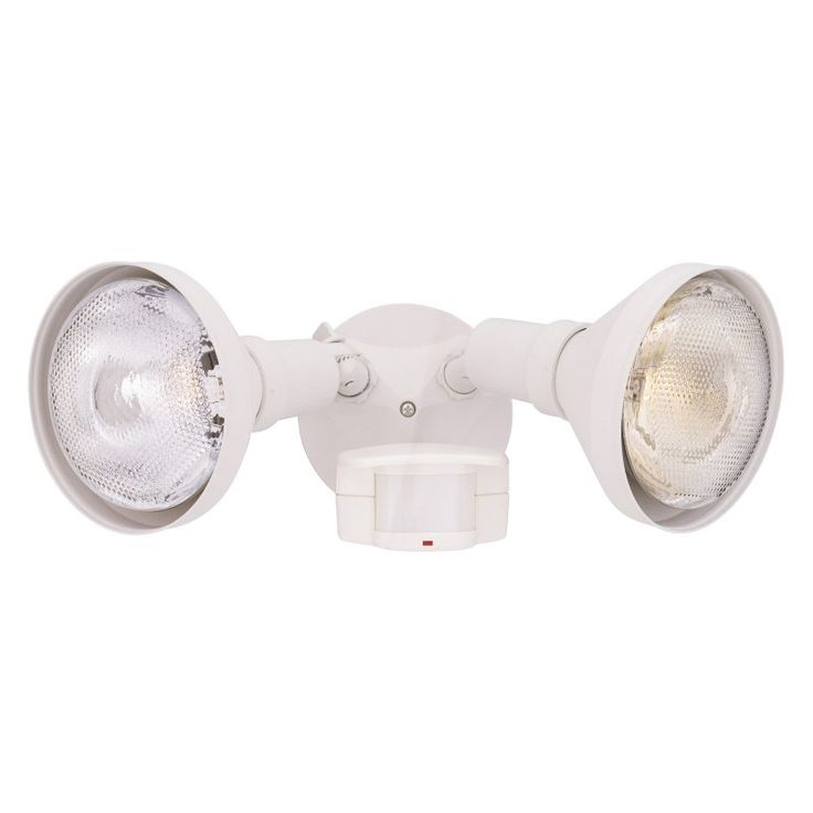 Designers Fountain Outdoor P218C Area and Security 180 Degree Motion Detector Light - P218C-