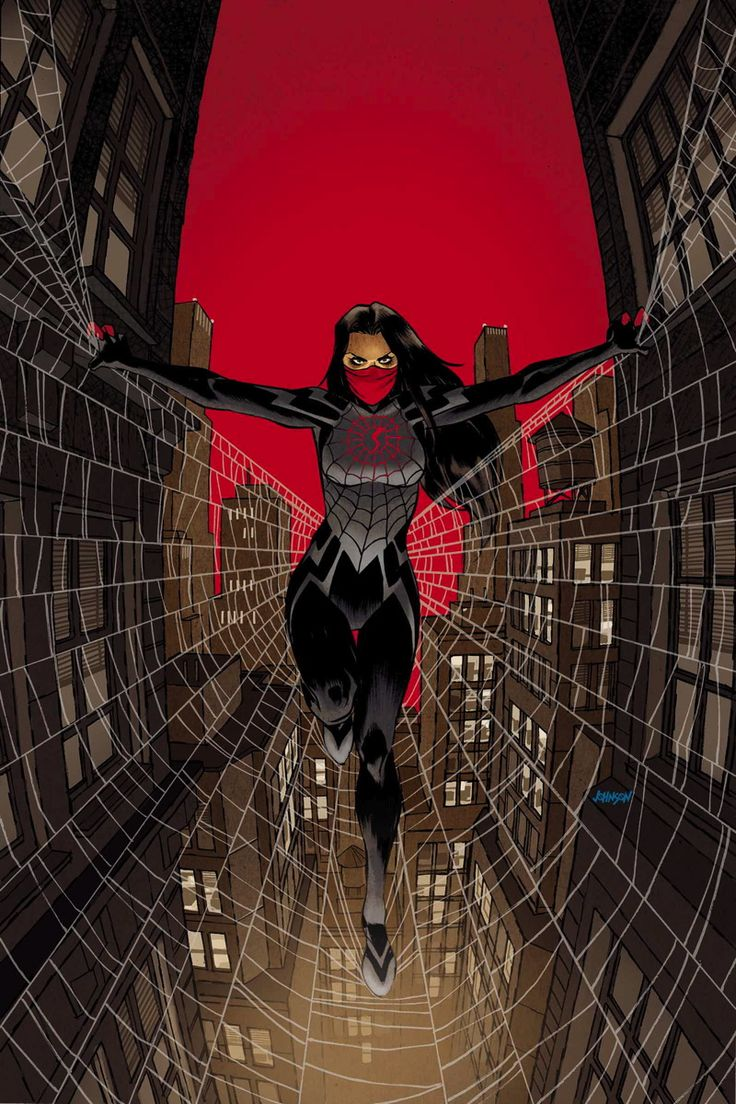 "Forget Marvel's Spider-Woman; this girl deserves the title more! It's the first issue of ""Silk"" - giving the girl who also was bitten by the same radioactive spider her own life."