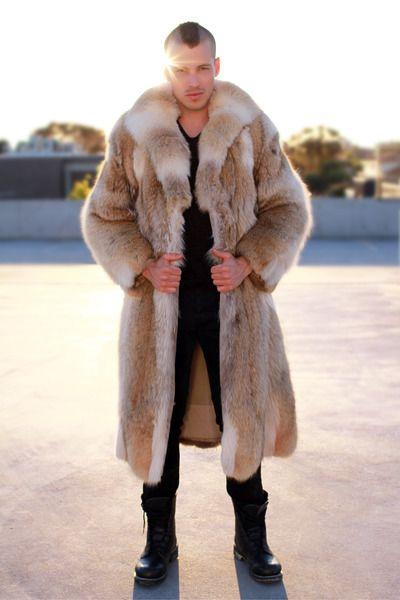 82 best Style | Dudes wearing Fur Coats images on Pinterest | Fur ...
