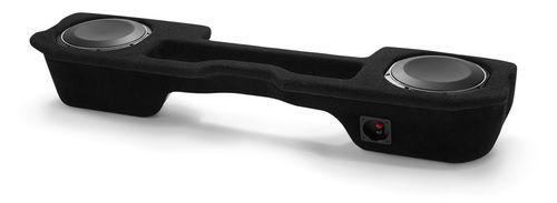 JL Audio SB-D-QDRAMD/10TW1: Stealthbox® for 2002-Up Dodge Ram 1500 Quad Cab, 2003-Up 2500 & 3500 Quad Cab & 2009-Up Crew Cab