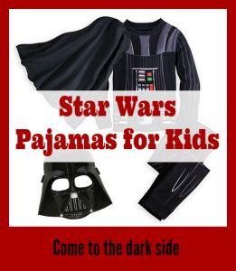 Star Wars Pajamas for Kids #StarWars #Pajamas #DarthVadar