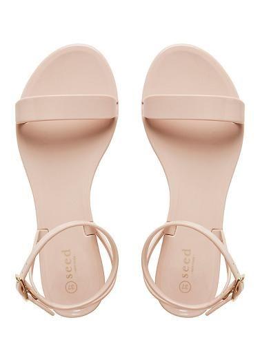 S U N N Y K E L S S Womens Shoes | Tessa Strap Jelly Sandal | Seed Heritage