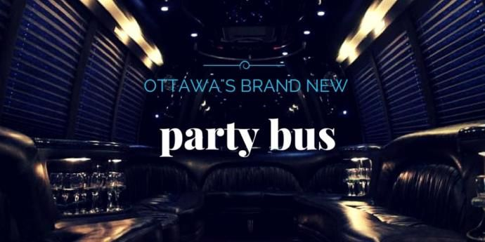 Ottawa's brand new party bus