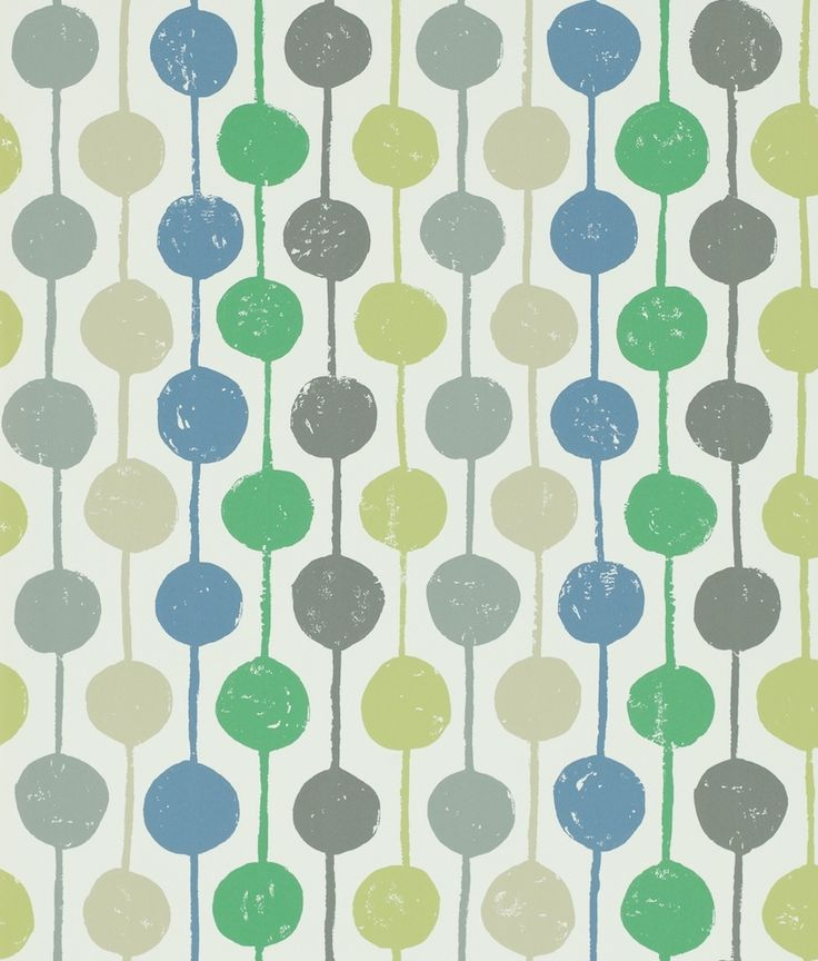Taimi Apple, Ivy and Slate wallpaper by Scion