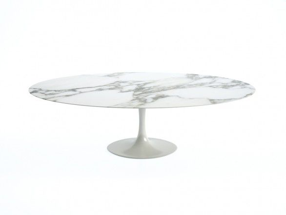 Knoll Saarinen Tulip Large Dining Table - Oval