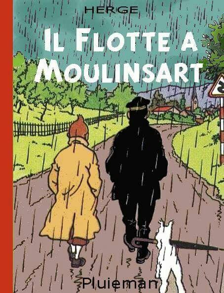 Les Aventures de Tintin - Album Imaginaire - Il Flotte à Moulinsart