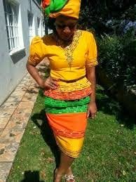 sepedi traditional dresses for womens 2014