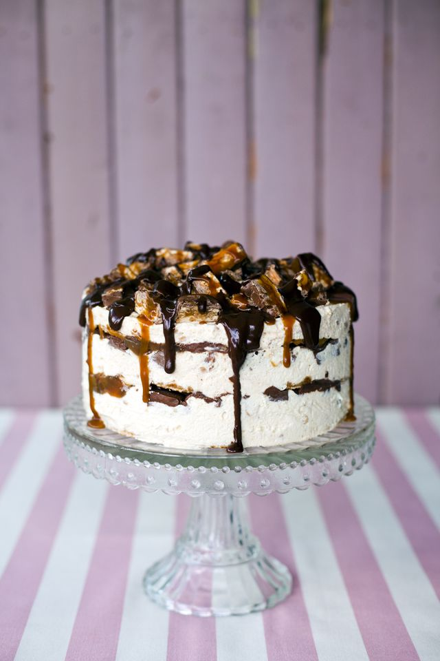 Snickers Ice Cream Cake… | DonalSkehan.com