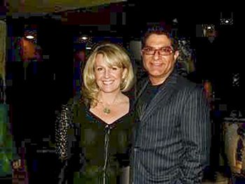 How Meditation Saved Sarah McLean by Trish Kinney. (Sarah McLean photographed with Deepak Chopra while she served as Education Director at the Chopra Center)
