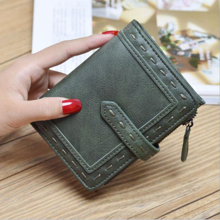 CITY LIGHT Women wallet fashion Two folding multi-function hasp simple wallet ladies wallet purse #wallet #purse #clutch