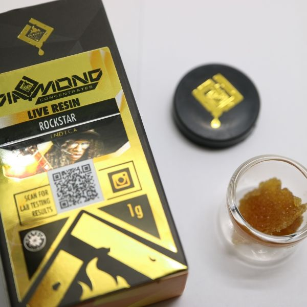 Diamond Live Resin $70.00  Live resin from Diamond Extracts 4 strains to choose from!