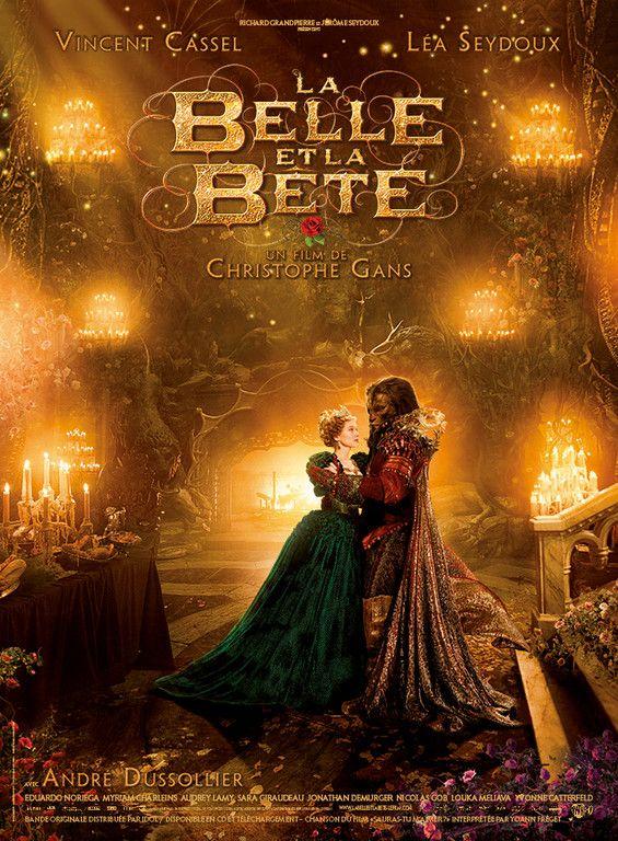 Affiche de La Belle et la Bête